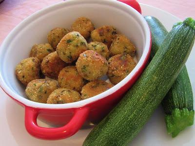 Okruglice ( ćufte ) od tikvica / Zucchini dumplings