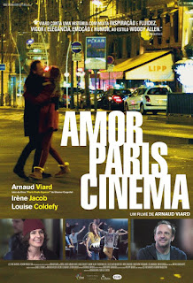 "Poster do filme ""Amor, Paris e Cinema"""