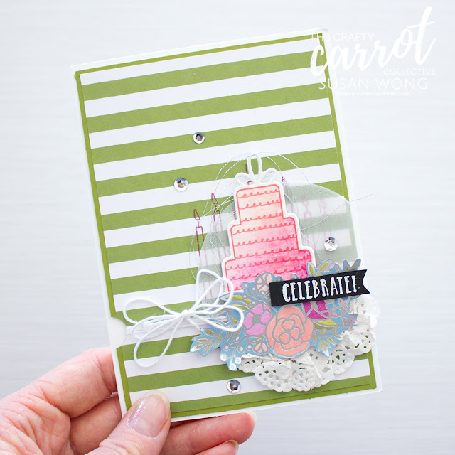 Celebration Time + Sweet Soiree - Susan Wong for The Crafty Carrot Co.