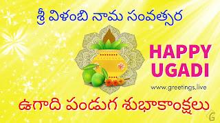 Sri Vilambi Nama Samvatsara Ugadi Festival 2018 HD Images