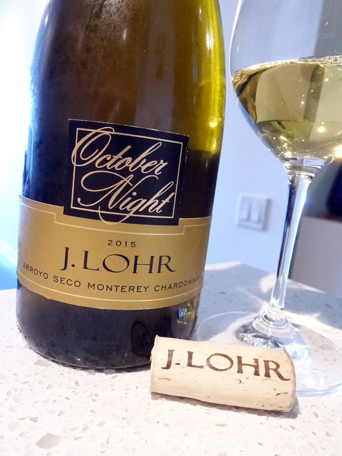 J. Lohr October Night Chardonnay 2015 (88 pts)