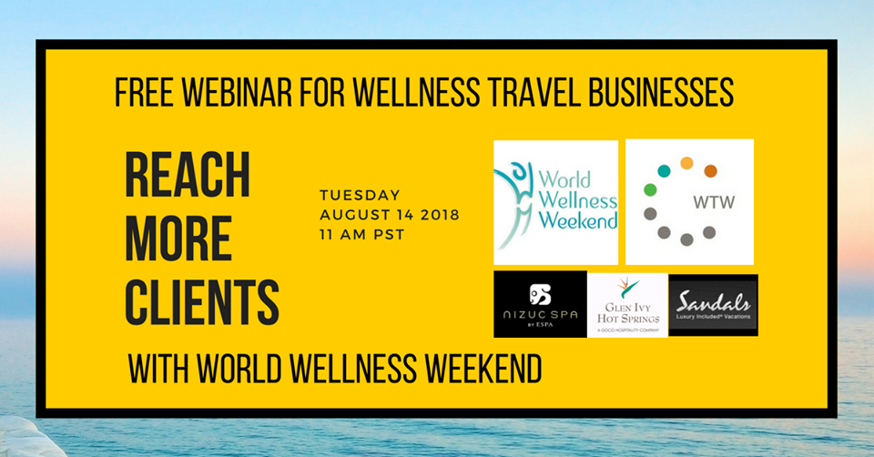 Free Online Training for Wellness Travel Businesses