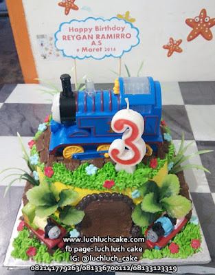 Birthday cake Thomas Buttercream