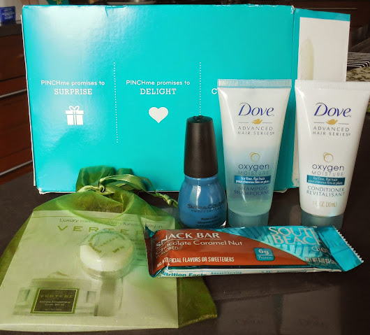 PINCHme Sample Box featuring Sinful Colors Ocean Side Swatch And Review