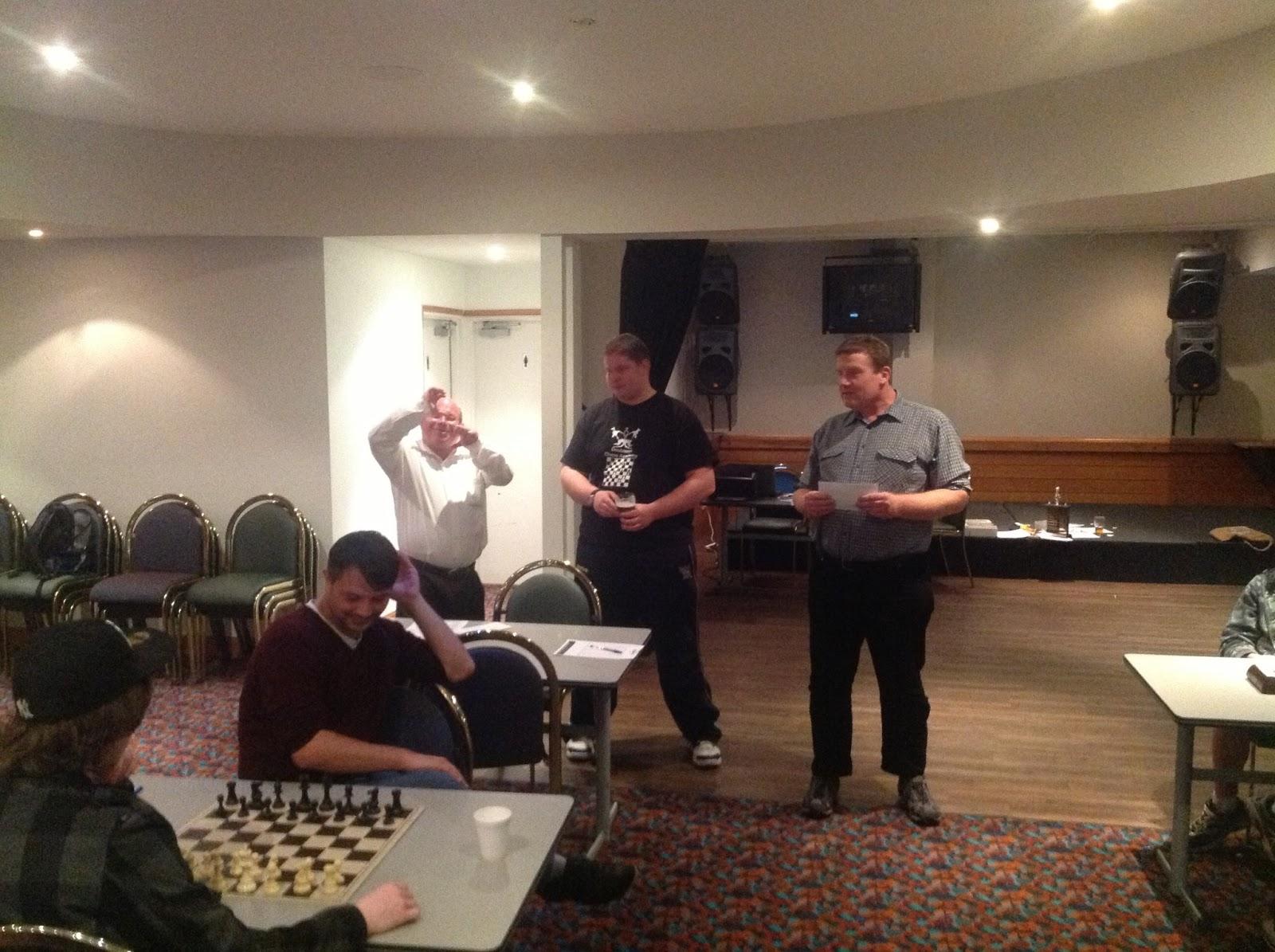 Happy Birthday Tony Chess Cake