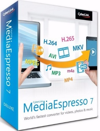 Download CyberLink MediaEspresso Deluxe + Reg