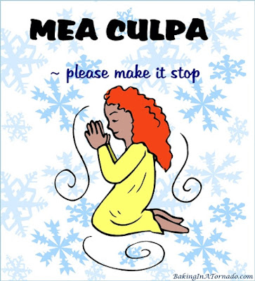 Mea Culpa. I'm sorry. I take full responsibility. It was me. | Graphic property of www.BakingInATornado.com | #humor #MyGraphics