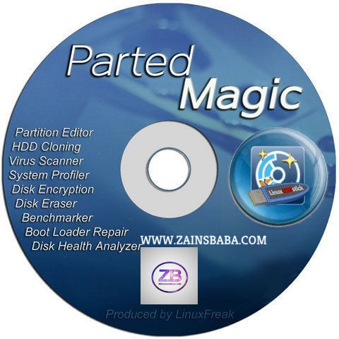 Parted Magic Boot ISO – (Partition – Clone – Rescue Tool)