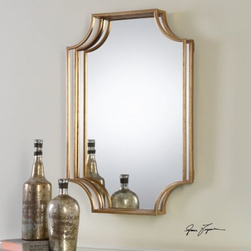 Metal Accent Wall Mirror