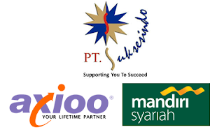 Lowongan Kerja di Bank Syariah Mandiri & PT Terradata Indonusa (Axioo) - Soloraya (Marketing KPR, Promotor, Chanel Relation)