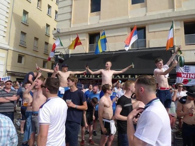 En un partido beben toda la existencia de un bar en la Euro