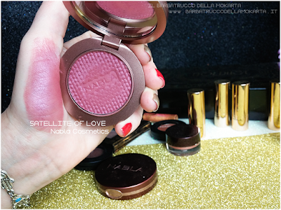 SATELLITE OF LOVE swatches Blush Blossom   goldust collection Nabla cosmetics