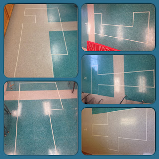 Use the floor tiles in your classroom to teach your students about area and perimeter!