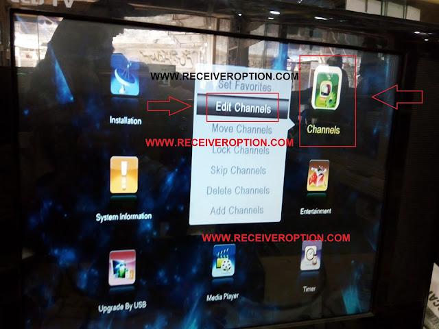 STAR TRACK PLATINUIM HD RECEIVER BISS KEY OPTION