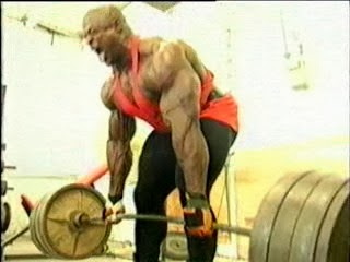 تمارين عضلات الظهر رونى كولمان