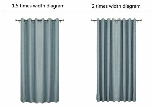 布窗簾|不同打折術展示效果不同,二倍打折較為常見