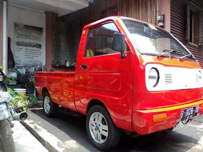 mitsubishi minicab pick up modifikasi