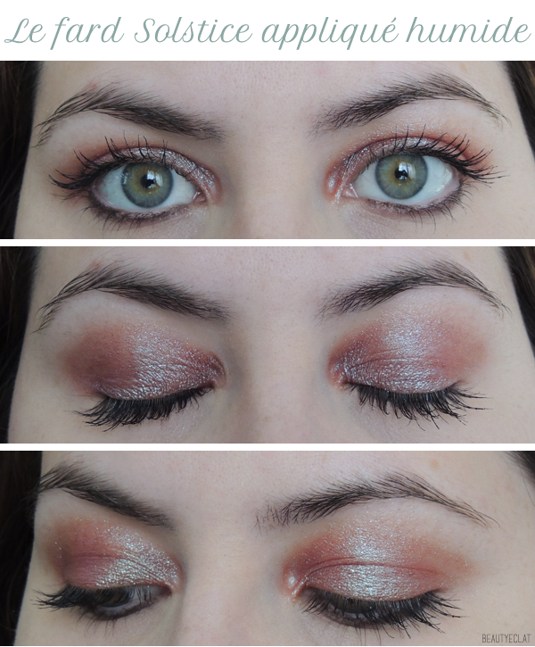 revue avis test swatch urban decay moodust solstice humide tutoriel maquillage
