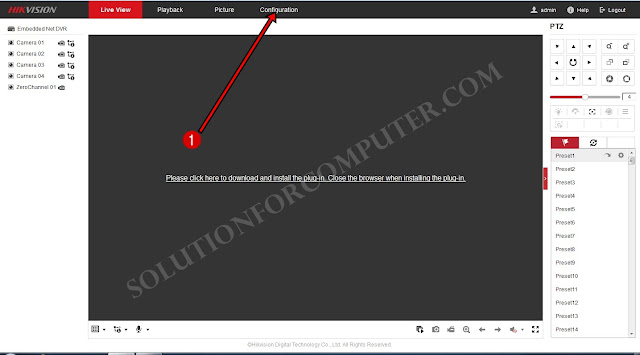 How to configure Hikvision DVR online