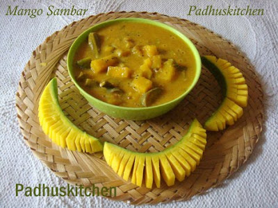 Raw Mango sambar