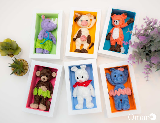 Colorful Gift Box - Amigurumi Packaging