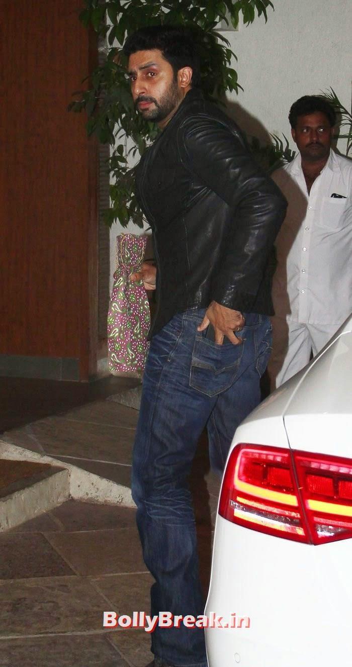 Abhishek Bachchan, Goldie Behl & Sonali Bendre's Wedding Anniversary Bash Pics