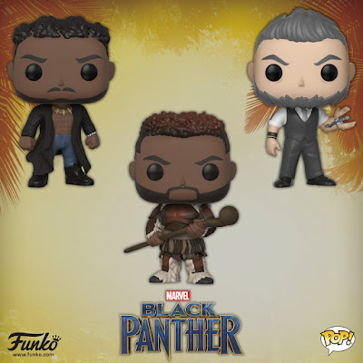 Black Panther Movie Pop! Marvel Series 2 Vinyl Figures by Funko