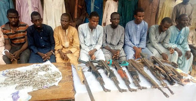 How Police Command has arrested and paraded 22 Boko Haram Terrorists...
