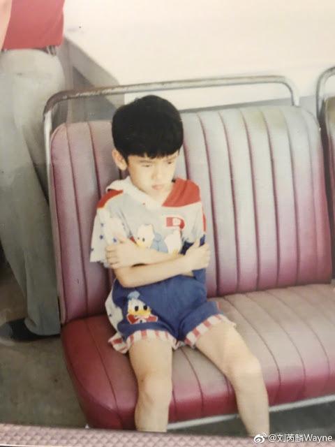 Wayne Liu Ruilin kid picture