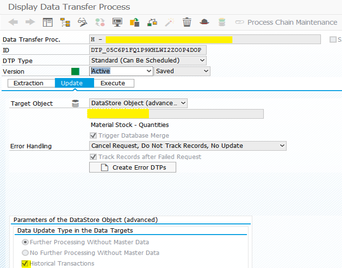 Inventory Management in SAP BW/4HANA