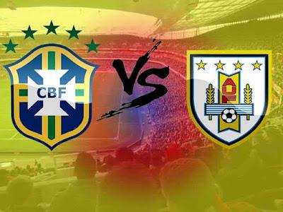 Transmissão jogo Brasil x Uruguai ao vivo online grátis