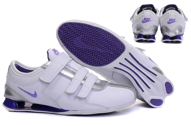 separation shoes 8c63b 92494 nike shox velcro women
