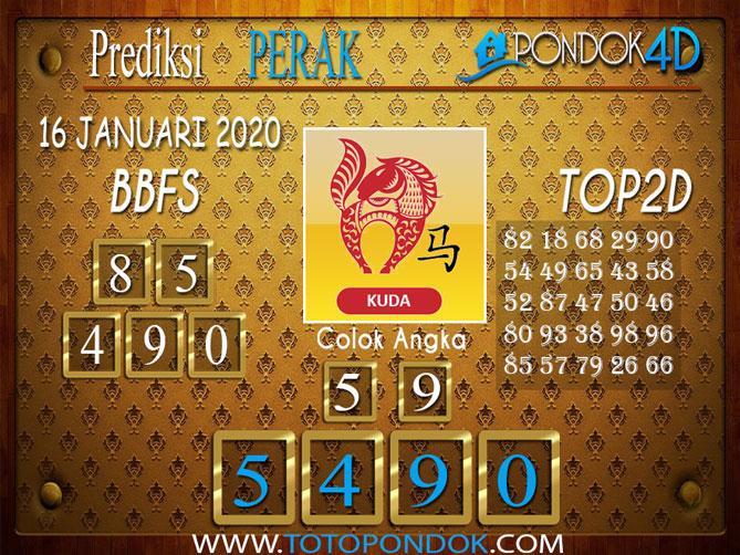 Prediksi Togel PERAK PONDOK4D 16 JANUARI 2020