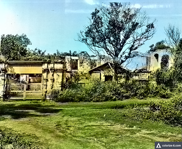 Residence of San Jose's ex-Mayor burned in WWII 1945.  Image source:  United States National Archives.