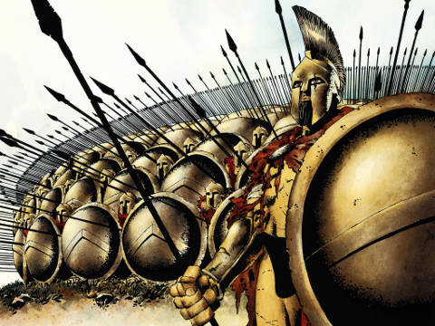 Leonidas and the Spartans