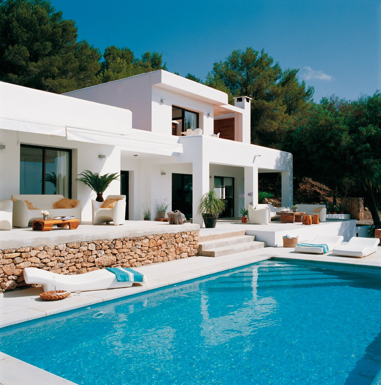 Home Designs October 2012: Stunning Mediterranean Style Home In Ibiza