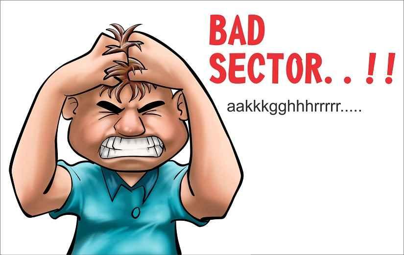 penyebab bad sector pada hardisk