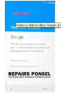 Carar remove sinkron akun google pada samsung android galaxy j5