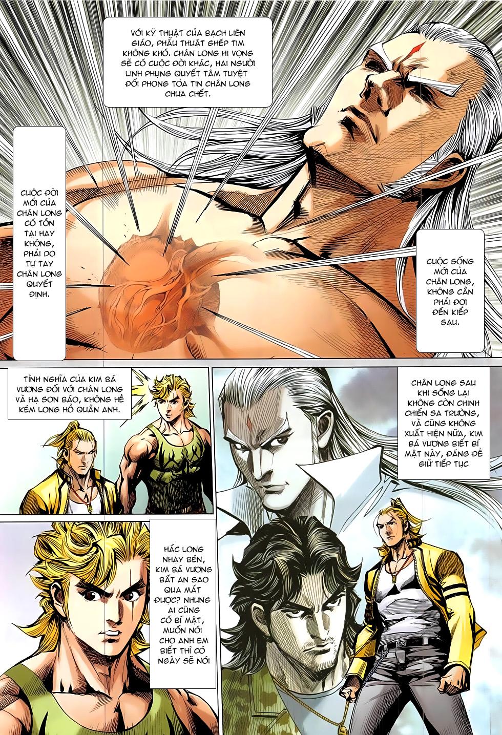 Đông Phương Chân Long chap 66 - Trang 23