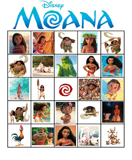 free printable moana activities