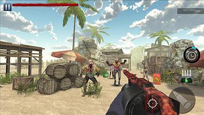 لعبة Zombie Hunter للأندرويد، لعبة Zombie Hunter مدفوعة للأندرويد