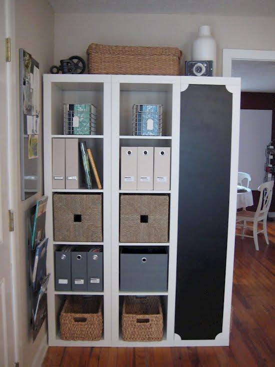 Genius Idea Ikea Expedit Shelves With Baskets For Storage: Genius IKEA Expedit Shelves Hack