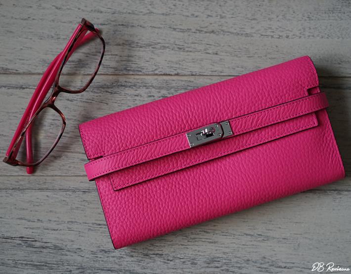 Eva Leather | Rosaire Havana Togo Leather Wallet