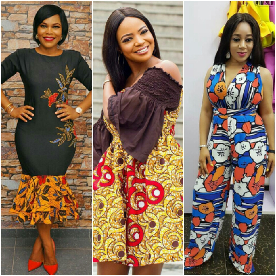 Simple Skirt And Blouse Ankara Styles Anlis
