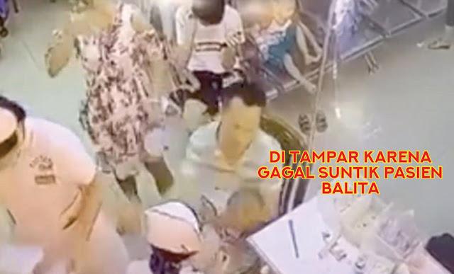 Suster Berulang Kali Gagal Suntik Pasien Balita Suster Ini Ditampar Orangtua Pasien!