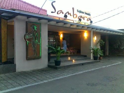 2 Tempat Wisata Kuliner yang Terkenal di Bandung - Sambara Resto