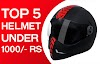 Top 5 Full-face helmet under Rs 1000 for men