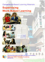Supervised Work Based Learning Cover page