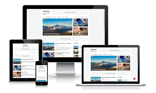DIGZThemes - Infinite Responsive Blogger Template