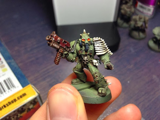 Plague Marines! (How To Paint)